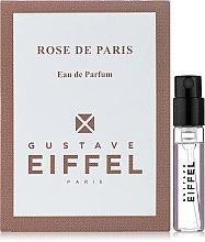 Духи, Парфюмерия, косметика Gustave Eiffel Rose de Paris - Парфюмированная вода (пробник)