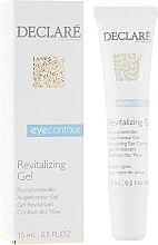Духи, Парфюмерия, косметика Восстанавливающий гель для кожи вокруг глаз - Declare Revitalising Eye Contour Gel