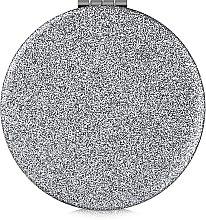 Духи, Парфюмерия, косметика Зеркало косметическое круглое, серебряное - Lily Cosmetics
