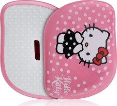 Духи, Парфюмерия, косметика Расческа для волос - Tangle Teezer Compact Styler Smooth & Shine Brush Hello Kitty Pink