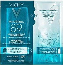 Духи, Парфюмерия, косметика Экспресс-маска на тканевой основе из микроводорослей - Vichy Mineral 89 Fortifying Recovery Mask