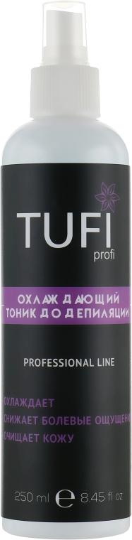 Тоник до депиляции, охлаждающий - Tufi Profi
