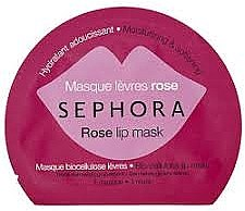 """Духи, Парфюмерия, косметика Маска для губ """"Роза"""" - Sephora Lip Mask"""