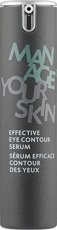 Эффективная сыворотка для кожи вокруг глаз - Dr. Spiller Manage Your Skin Effective Eye Contour Serum