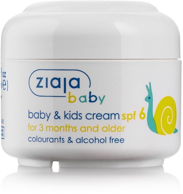 Солнцезащитный крем для младенцев SPF6 - Ziaja Sunblock for babies