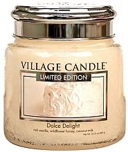 """Духи, Парфюмерия, косметика Ароматическая свеча в банке """"Сладкое наслаждение"""" - Village Candle Dolce Delight"""