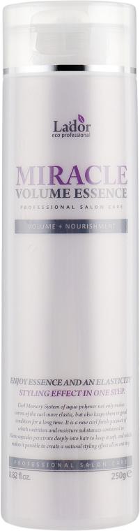 Увлажняющая эссенция для фиксации и объема волос - La`Dor Miracle Volume Essence