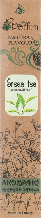 Аромапалочки с успокаивающим ароматом зеленого чая - MSPerfum