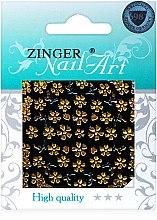 Духи, Парфюмерия, косметика Наклейки для дизайна ногтей, fda-186 - Zinger Nail Art Sticker