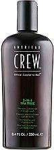 "Духи, Парфюмерия, косметика Средство по уходу за волосами и телом 3-в-1 ""Чайное дерево"" - American Crew Tea Tree 3-in-1 Shampoo, Conditioner and Body Wash"