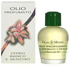 Духи, Парфюмерия, косметика Frais Monde White Cedar And Musk Perfumed Oil - Парфюмированное масло