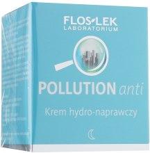 Духи, Парфюмерия, косметика Гидровосстанавливающий ночной крем для лица - Floslek Pollution Anti Lipo-Repairing Cream