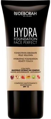 Увлажняющая тональная основа - Deborah Hydra Foundation Face Perfect SPF 15 — фото N1