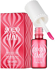 Парфумерія, косметика Жидкий пигмент для губ и щечек - Benefit Gogo Tint (мини)