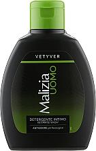 Парфумерія, косметика Гель для інтимної гігієни для чоловіків - Malizia Vetyver Uomo Intimate Wash