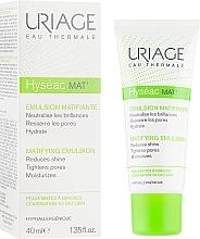 Духи, Парфюмерия, косметика Крем-гель для лица с матирующим эффектом - Uriage Hyseac Mat