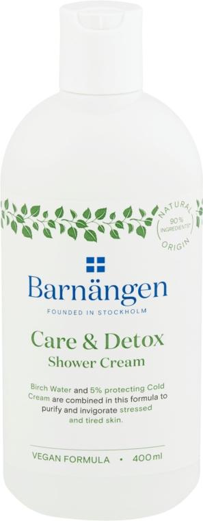 """Крем-гель для душа и ванн """"Уход и детокс"""" - Barnangen Care & Detox Shower Cream — фото N1"""