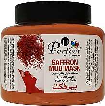 Духи, Парфюмерия, косметика Омолаживающая маска для лица на основе глины с натуральным экстрактом шафрана - Perfect Cosmetics Saffron Mud Mask