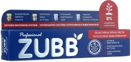 "Зубная паста ""Интенсивное отбеливание"" - ZUBB — фото N3"