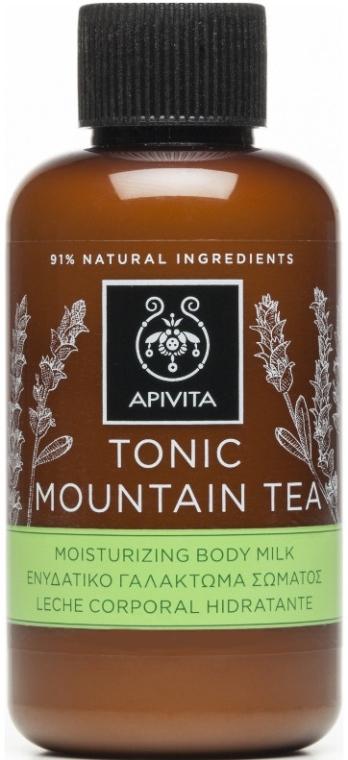 """Молочко для тела увлажняющее """"Тонизирующий горный чай"""" - Apivita Tonic Mountain Tea Moisturizing Body Milk"""