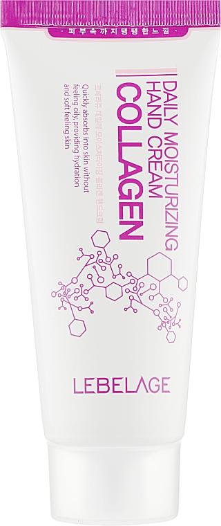Крем для рук увлажняющий с коллагеном - Lebelage Daily Moisturizing Collagen Hand Cream
