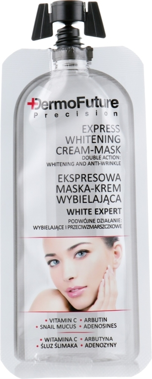 Отбеливающая крем-маска - DermoFuture Express Whitening Cream-Mask