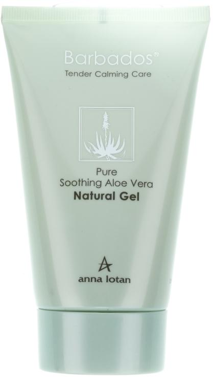 Натуральний гель з алое вера - Anna Lotan Barbados Pure Soothing Aloe Vera Natural Gel — фото N4