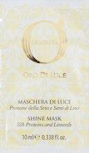 Духи, Парфюмерия, косметика Маска-блеск с протеинами шелка и экстрактом семян льна - Barex Italiana Olioseta Oro Di Luce Shine Mask (пробник)