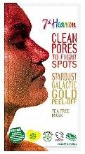 Духи, Парфюмерия, косметика Маска-пленка для лица с маслом чайного дерева - 7th Heaven Stardust Galactic Gold Peel-Off Tea Tree Mask