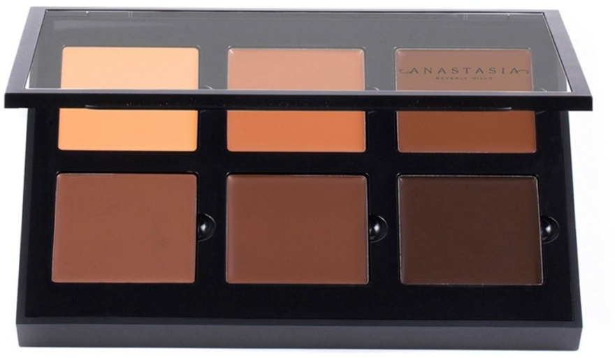 Палетка для контуринга лица - Anastasia Beverly Hills Pro Series Contour Cream Kit