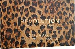 Палетка теней для век - Makeup Revolution Wild Animal — фото N4
