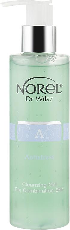 Очищающий гель для жирной, комбинированной кожи с признаками акне - Norel Antistress Cleansing Gel