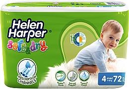 Духи, Парфюмерия, косметика Подгузники для детей Soft & Dry Maxi 4 (7-18 кг), 72 шт - Helen Harper