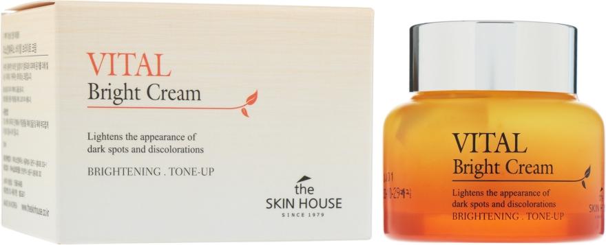 Витаминизированный крем для ровного тона лица - The Skin House Vital Bright Cream
