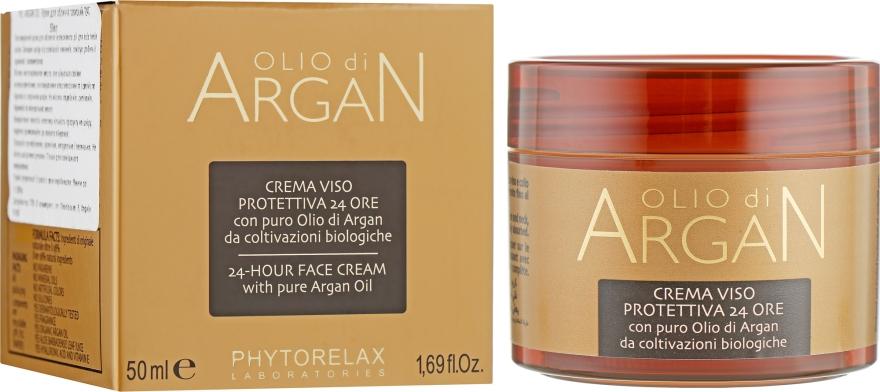 Питательный крем для лица - Phytorelax Laboratories Olio di Argan 24h Face Cream