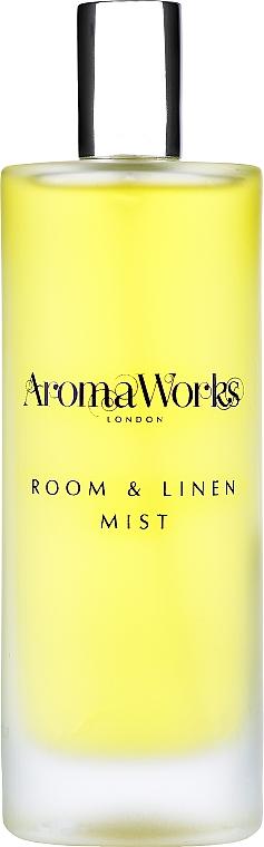 """Спрей для дома """"Базилик и лайм"""" - AromaWorks Light Range Room Mist"""