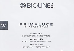 Духи, Парфюмерия, косметика Сыворотка 15% с PHA и AHA кислотами - Bioline Jato Primaluce Exforsdiance Serum 15% Exfoliating Renovating (пробник)