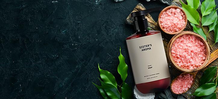 Жидкое мыло в подарок, при покупке продукции Sister's Aroma на сумму от 1000 грн