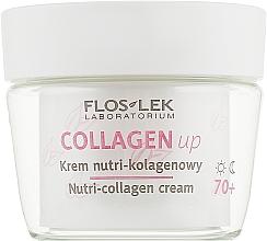 Крем для лица коллагеновый 70+ - Floslek Collagen Up Nutrii-collagen Cream 70+ — фото N2