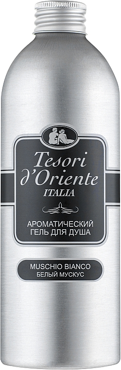 Парфюмированный крем-гель для ванны, белый мускус - Tesori d'Oriente