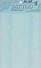 """Духи, Парфюмерия, косметика Флэш-тату """"Белый ажур"""", HLC-027 - Biofarma"""