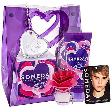 Духи, Парфюмерия, косметика Justin Bieber Someday - Набор (edp/30ml + b/lot/200ml + room fresher)