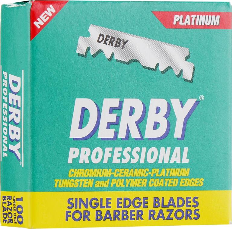 Лезвия-половинки - Derby Professional Half Blades