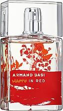 Духи, Парфюмерия, косметика Armand Basi Happy In Red - Туалетная вода
