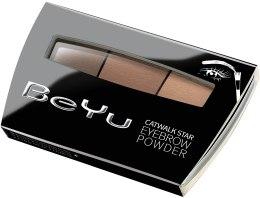 Духи, Парфюмерия, косметика Тени для бровей - BeYu Catwalk Star Eyebrow Powder
