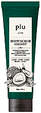 Духи, Парфюмерия, косметика Скраб для тела с кокосом - Plu Body Scrub Coconut