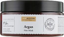 Духи, Парфюмерия, косметика Концентрированная маска для волос с маслом арганы и кератином - Stara Mydlarnia Argan Hair Mask
