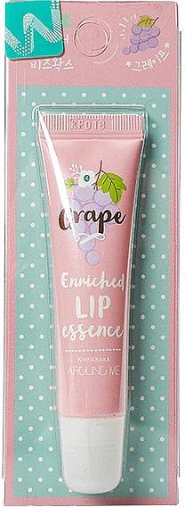 Эссенция для губ с виноградным ароматом - Welcos Around Me Enriched Lip Essence Grape