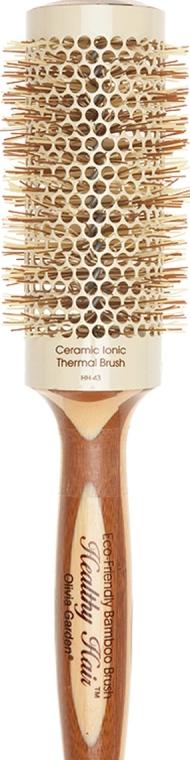 Брашинг бамбуковый, 43 мм - Olivia Garden Thermo Healthy Hair