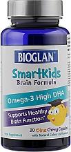 Духи, Парфюмерия, косметика Капсулы-желейки Омега-3 для детей - Bioglan Brain Omega-3 DHA